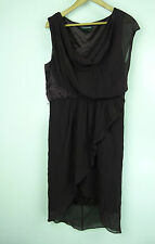 JAYSON BRUNSDON BLACK LABEL Dress Sz 12 Maroon Cocktail evening event wedding