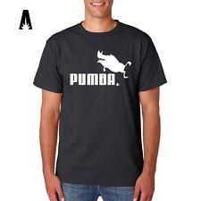 R 0106 PUMBA Walt Disney HAKUNA MATATA Puma Timon Lion King T-shirt Tee Camiseta