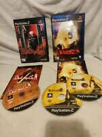 Devil May Cry and Devil May Cry 2 Bundle for PlayStation 2 (PS2) complete