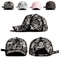 Unisex Mens Womens Flipper Sketch Graffiti Casual Baseball Cap Adjustable Hats