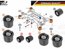 FOR BMW X5 E53 REAR SUBFRAME AXLE CARRIER FRONT DIFFERENTIAL BUSH BUSHES SET