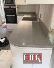 Grey mirror fleck Quartz kitchen worktops | Quality Stone | Sample