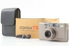 【MINT in Box】 Contax T3 D Point & Shoot 35mm Film Camera w/ Case From Japan