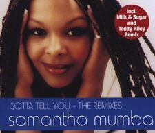 Samantha Mumba Gotta tell you-The Remixes (2000) [Maxi-CD]
