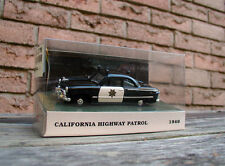 1/43 1949 FORD COUPE - CALIFORNIA POLICE - WHITE ROSE 1/43rd