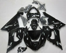 Gloss Black BodyWork Fairing Kit for Kawasaki Ninja ZX6R 2005 2006 ZX-6R 05 06