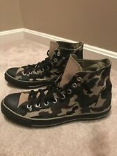 converse all star high top Camo Sz 10 Bandana Canvas Camouflage Chuck Taylor New