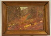 George T. Winterburn (American, 1865-1953) 1912 Original Antique Oil Painting