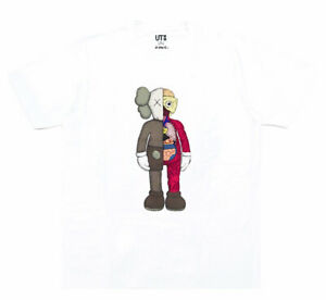 Uniqlo x Kaws UT Graphic Tee 'Dissected Flayed' White Size XL NWT