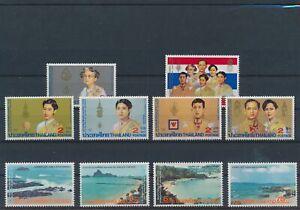 LO43900 Thailand royalty views landscapes fine lot MNH