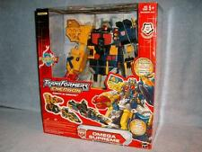 Omega Supreme combines with Optimus Prime Transformers Energon 2004 Used Display