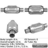 Catalytic Converter-Universal Rear Eastern Mfg 809027
