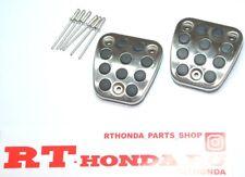 OEM Honda FD FN CL Civic Accord TYPE-R  Euro-R Clutch + Brake Pedal Pad Covers