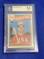 1985 Topps Mark McGwire #401 BGS 6.5 EX-MT+ Rookie Card 1984 USA Baseball Team