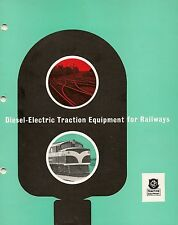 Crompton Parkinson Traction equipment for railways promotional booklet