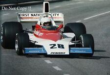 Mark Donohue Penske PC1 Grand Prix de Mónaco 1975 fotografía