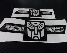 Car Transformers Autobot Front Rear Badge Emblem PVC Epoxy for 2009-2014 CRUZE