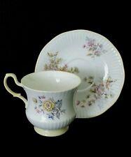 Queen's Rosina England fine bone china tea cup & saucer, circa 1970's