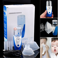 Kids Adult Rechargeable Ultrasonic Nebulizer Handheld Humidifier Mist Inhalers