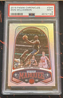 2019 Panini Chronicles Marquee RC Zion Williamson PSA 9 Pelicans