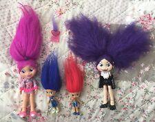 Trollz Dolls Fashion Original Amethyst Onyx & Mini Figures Clothes Collectable
