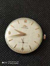 Vintage Movado 125 gents watch  movement, with jumbo dial -  Working