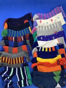 NEW 25 Infant Socks Tommy Hilfiger 12-24 Months Girl Boy Mismatched & Pairs