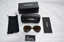 f342fe405f4 CHANEL 4219-q Brown Gradient Polarized Pilot Sunglasses