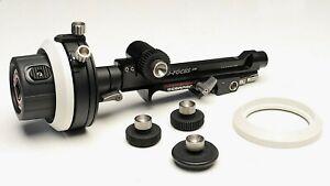 OConnor O-Focus DM Photo Follow Focus for Arri 15mm LWS Rods-use w/ zeiss sony