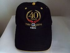 NAPA Filters 40 years 1966 2006 black ball cap hat adult size adjustable FREE SH