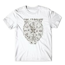 Time Travelers T-Shirt. 100% Cotton Premium Tee NEW