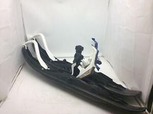 """Ski-Doo Pilot TS Ski Set Of Two W/ 6"""" Adjustable  Runners 505073786 505073796"""