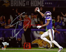 Stefon Diggs Vikings Signed 8 x 10 Minnesota Miracle Touchdown Photo Reprint