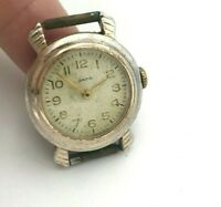Soviet Watch ZARYA Youngster Small Vintage Dial Mechanical SERVICED USSR Russia