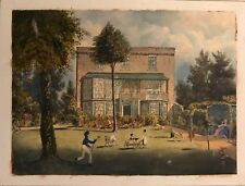 TURNHAM GREEN AQUARELLE  ANGLAISE  1830