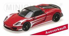Minichamps 1:43 Porsche 918 Spyder - 'Weissach Package LeMans Racing Design