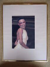 GRACE JONES PHOTO 1985 UNIQUE IMAGE UNRELEASED ROYAL ALBERT  HALL HUGE 12 INCHES
