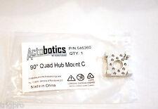 Actobotics 545360 90 degree Quad Hub Mount C Robotzone (not Tetrix) FTC 90deg