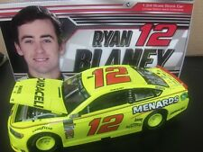 -------Ryan Blaney 2018 Menards #12 Penske Fusion 1/24 NASCAR Monster Energy Cup