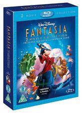 FANTASIA / FANTASIA 2000 [Blu-ray 2-Disc Set] Double Pack Disney Classic Movies