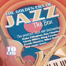CD Golden Era Of Jazz The Box von Various Artists 10CDs