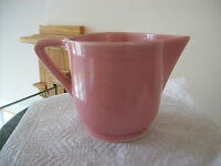 Pitcher Creamer Vintage Pottery Lovely Pink Marked Made In U.S.A.