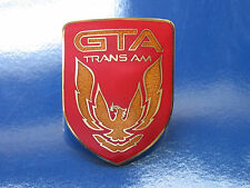 87-90 Pontiac Firebird Trans Am GTA Front Nose Badge (6 colors)