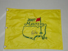 RAYMOND FLOYD SIGNED 2007 MASTERS PIN FLAG AUTOGRAPHED 1976 CHAMPION HOF RAY