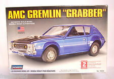 "NEW Sealed Lindberg 1/20 scale AMC Gremlin ""Grabber"" 8"" long Plastic Model Kit"