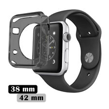 Apple Watch Series 3 2 1 Rugged Armor Protect Cover 38/42mm TPU Slim Bumpe Case