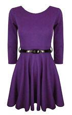 Vêtements violet à manches longues en polyester pour fille de 2 à 16 ans