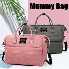Neu Wasserdichte Wickeltaschen Tasche Baby Windel Wickelrucksack Mummy Bag