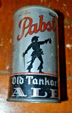Pabst Old Tankard Ale Irtp Open Instructional Flat Top Beer Can Usbc 635A