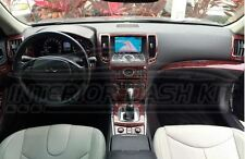 2014 2015 2016 INTERIOR WOOD DASH TRIM KIT FOR INFINITI Q60 Q 60 COUPE 2 DOOR